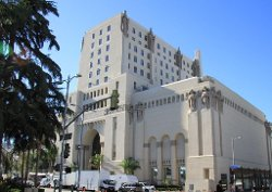 Los Angeles, California by The Legendary Park Plaza Hotel (Depicted as Driver and Irene's Apartments) in Drive