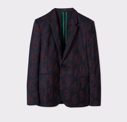 Cashmere Embroidered Paisley Blazer by Paul Smith in Shadowhunters