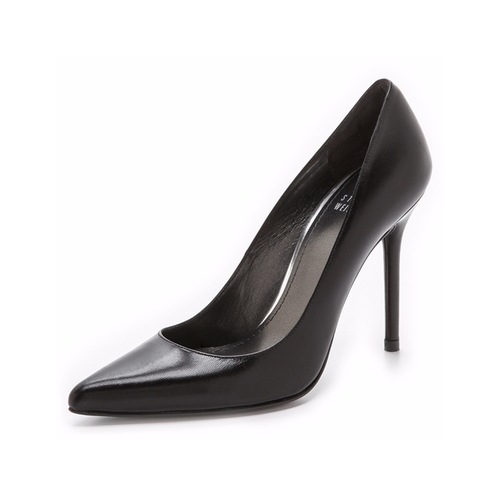 Nouveau Pointed Toe Pumps by Stuart Weitzman in The Intern