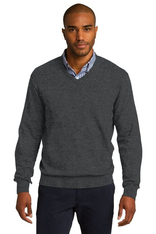 V-Neck Sweater by Port Authority in The American