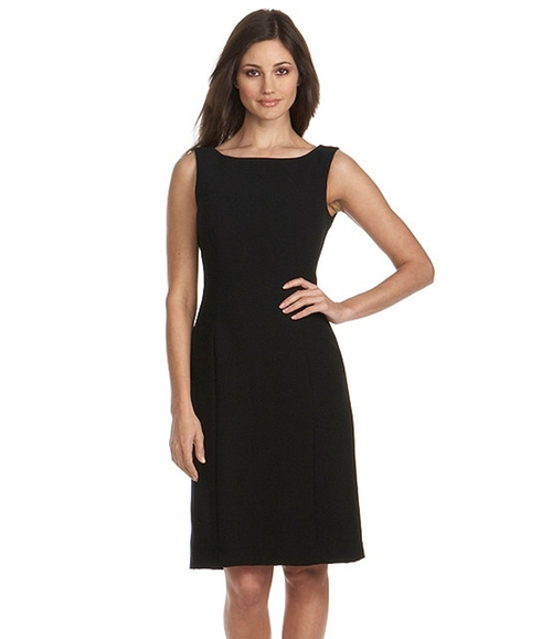 Sleeveless Crepe Dress by Tahari in Scandal - Season 5 Episode 2