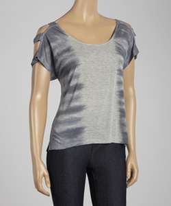 Jeanswear Heather Tie-Dye Cutout Esme Top by Jessica Simpson in Pitch Perfect 2