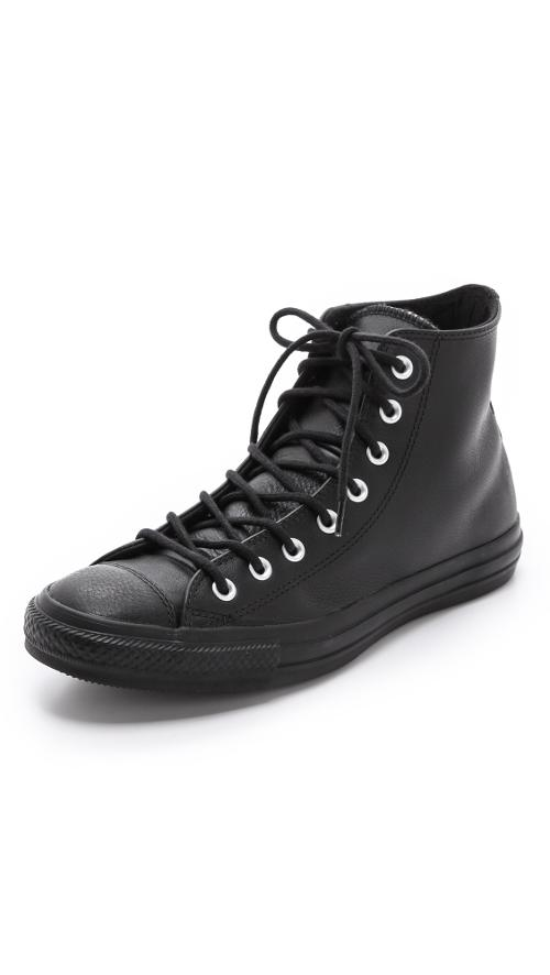 Insulated Chuck Taylor High Top Sneakers by Converse in Step Up: All In