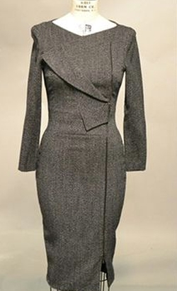 Long Sleeve Alpaca-Blend Dress by Antonio Berard in Suits