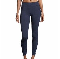 Seamless Cropped Performance Leggings by Tory Sport in Power