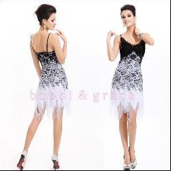 Short Lace Spaghetti Strap Dress by Bobbi & Grace in Vampire Academy