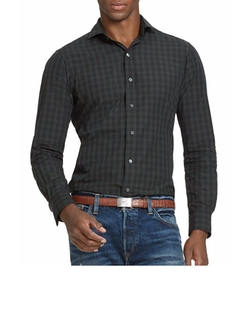 Slim-Fit Checked Estate Shirt by Polo Ralph Lauren in Billions