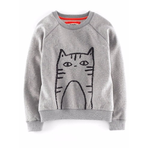 'Elle' Sequin Sweatshirt by Johnnie B By Boden in Unbreakable Kimmy Schmidt - Season 2 Episode 10