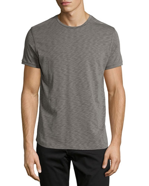 Dekker Crewneck Slub Tee by Theory in Ashby