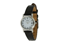 Eco-Drive Leather Watch by Citizen Watches in The D Train