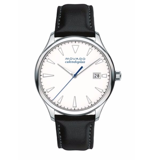 Heritage Tongue Buckle Strap Watch by Movado in Sleepless