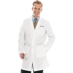 Men's 5-Pocket Twill Lab Coat by Landau in Jurassic World