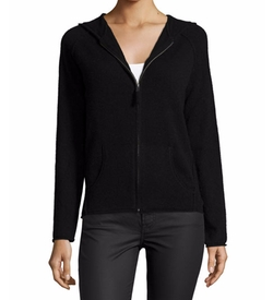 Cashmere Star Zip-Front Hoodie by 360Cashmere in Modern Family