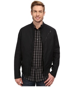 Coated Cotton Biker Jacket by DKNY Jeans in The Blacklist