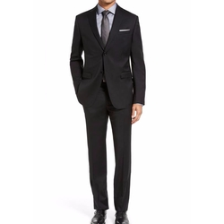 Drop 7 Trim Fit Wool Suit by Z Zegna in Billions
