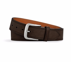 Essex Double Stitch Leather Belt by Shinola in The Ranch