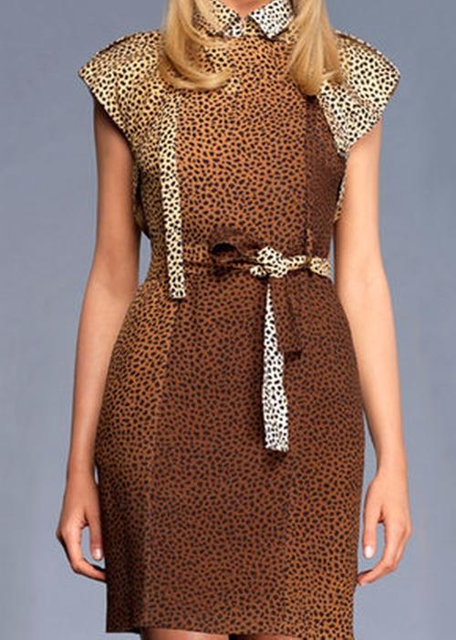 Leopard Dress by Gucci in Gossip Girl - Series Looks
