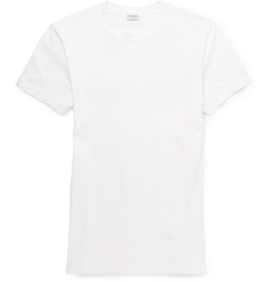 Cotton-Blend T-Shirt by Zimmerli in We Are Your Friends