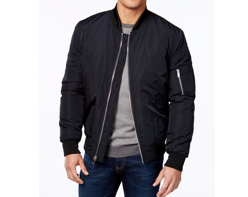 Men's Lined Bomber Jacket by Vince Camuto in Animal Kingdom - Season 1 Episode 8
