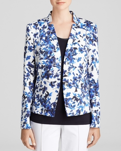 Printed Blazer by Basler in Neighbors