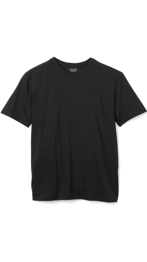 Crew Neck Tee by Vince in Blackhat