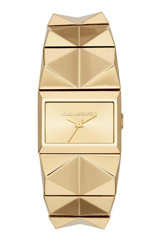'Perspektive' Pyramid Bracelet Watch by Karl Lagerfeld in The Other Woman