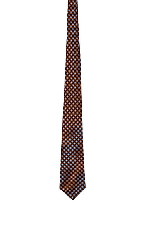 Silk Faille Necktie by Kiton in The Walk