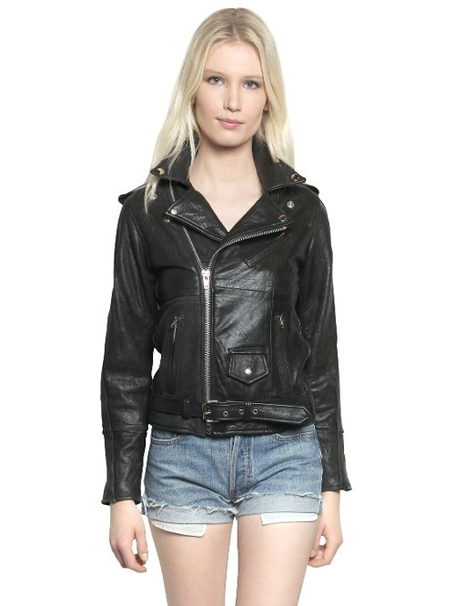 Recycled Soft Leather Biker Jacket by Pelechecoco in Avengers: Age of Ultron