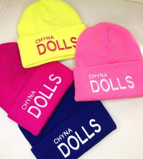 Chyna Doll Beanies by 88 Fin By Blac Chyna in Rob & Chyna - Season 1 Episode 1