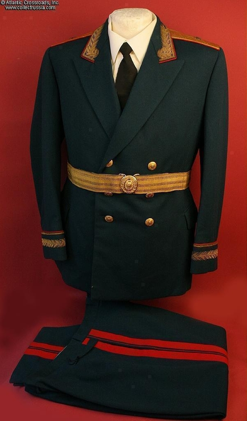 Russian Major General Uniform by CollectRussia in Mission: Impossible - Ghost Protocol