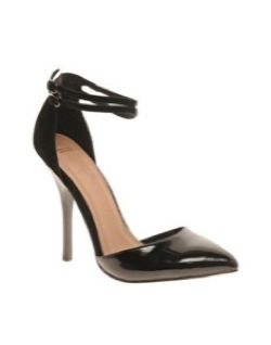 Prior Pointed High Heels by Asos in Crazy, Stupid, Love.