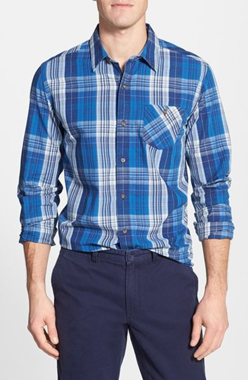 Allendale River Slim Fit Plaid Sport Shirt by Timberland in The Best of Me