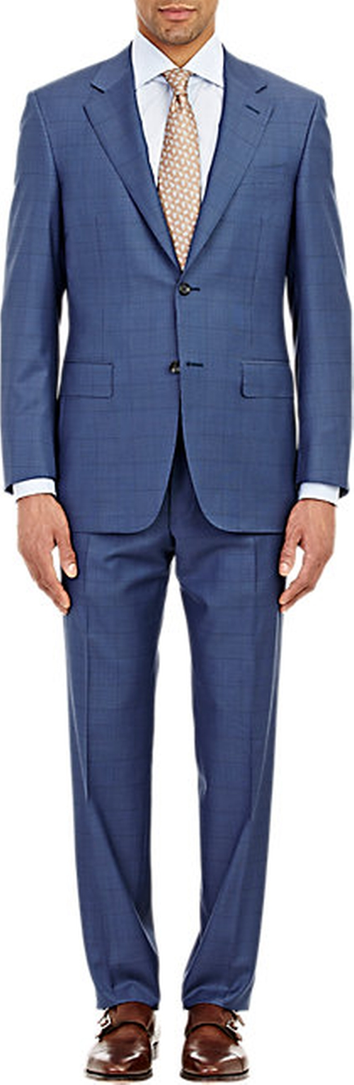 Two-Button Suit by Canali in Suits - Season 5 Episode 7