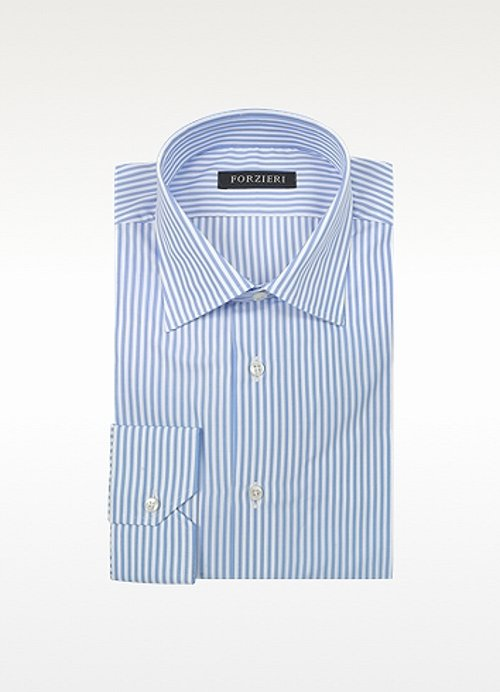 Striped Cotton Dress Shirt by Forzieri in Need for Speed