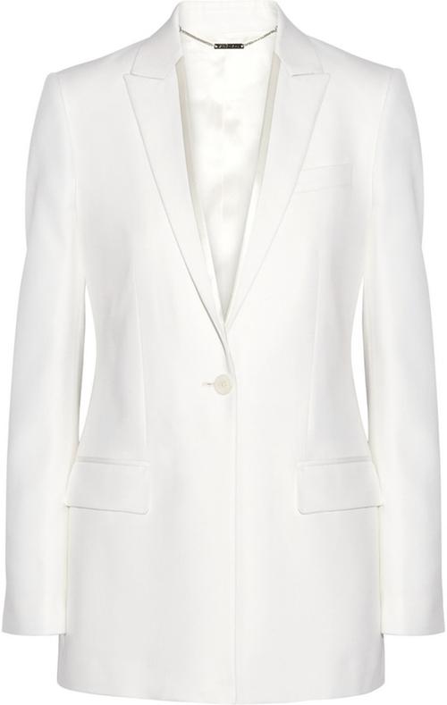 Satin-Trimmed Blazer in Cream Grain De Poudre Wool by Givenchy in Empire - Season 2 Episode 8