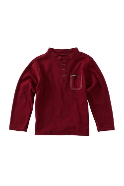Dazed Long Sleeve Henley by Sovereign Code in Before I Wake