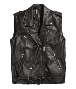 Biker Vest by H&M in Jem and the Holograms