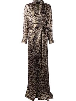Leopard Print Wrap Dress by Alexandre Vauthier in Keeping Up With The Kardashians
