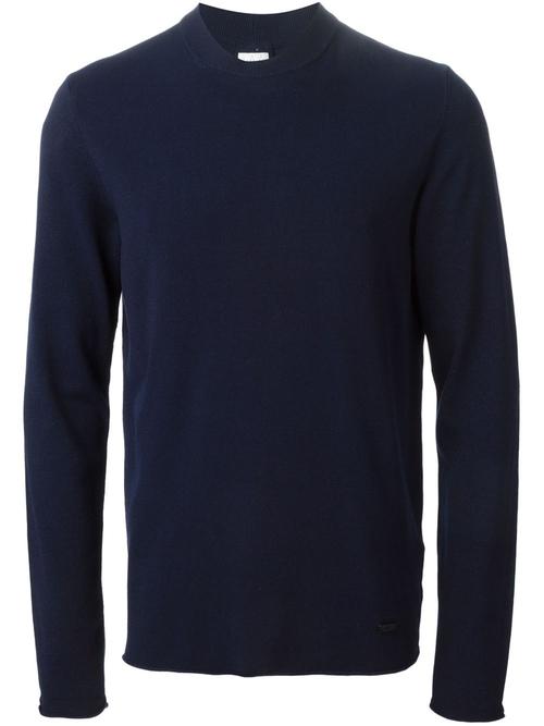 Crew Neck Sweater by Armani Collezioni in Steve Jobs
