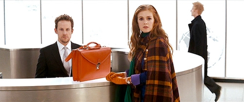 Leather Briefcase Bag by Prada in Confessions of a Shopaholic