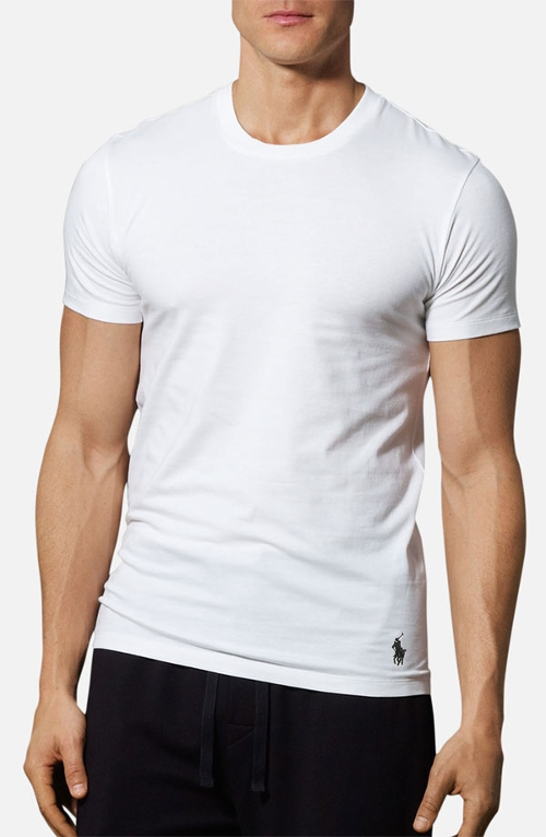 Slim Fit Crewneck T-Shirt by Polo Ralph Lauren in No Escape