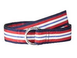 Patriot Stripe Grosgrain Belt by Vineyard Vines in Pitch Perfect 2