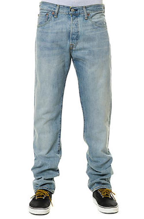 The 501 Original Fit Denim in Bleached by Levis in The Best of Me