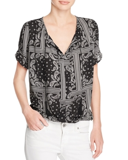 Bandana Print Top by Aqua in New Girl