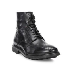 Hobson Wingtip Leather Boots by To Boot New York in Shadowhunters