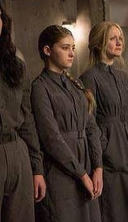 Custom Made Women's Coveralls (Primrose Everdeen) by Kurt and Bart (Costume Designer) in The Hunger Games: Mockingjay - Part 2