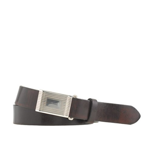 SPW Leather Belt Metal Croc Buckle Plate by Lacoste in Need for Speed