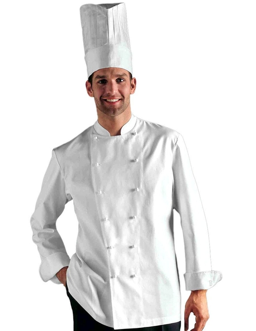 Men's Grand Chef Jacket by Bragard in Burnt