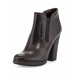 Gored Napa Ankle Boots by Prada in The Flash