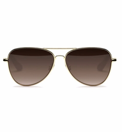 Stanton Stainless Steel Aviator Sunglasses by Elizabeth and James in Pitch Perfect 3